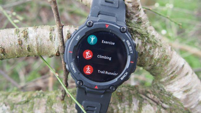 AMOLED touchscreen watch