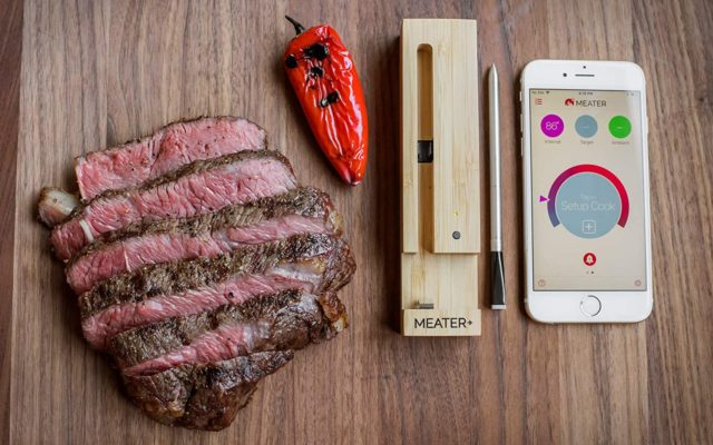 New Intelligent Wireless Meat Thermometer