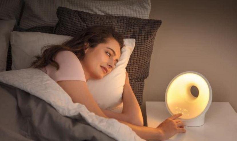 Philips SmartSleep Sleep and Wake up Light Therapy Lamp fe