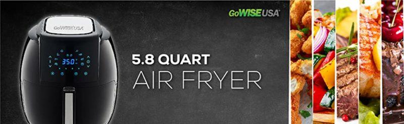 GoWISE USA GWAC22003 5.8 Quart Air Fryer