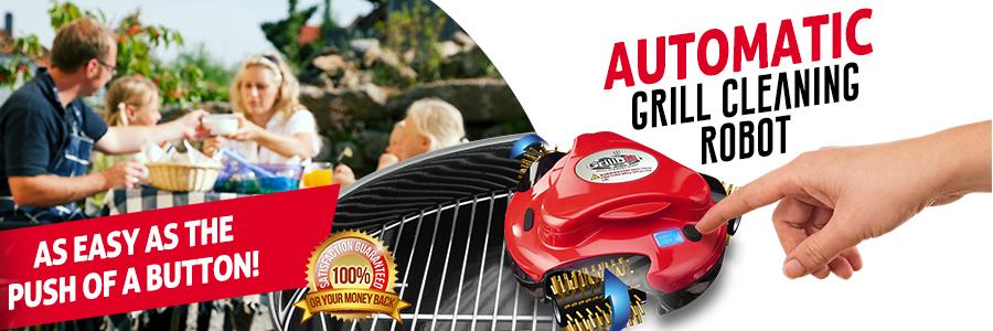 Grillbot Automatic Grill Cleaning Robot f