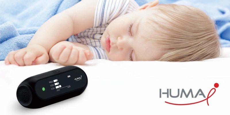 Huma i Advanced Portable Air Quality Monitor