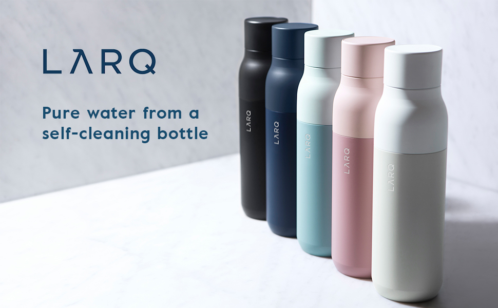 LARQ Bottle Self Cleaning Water Bottle and Water Purification System