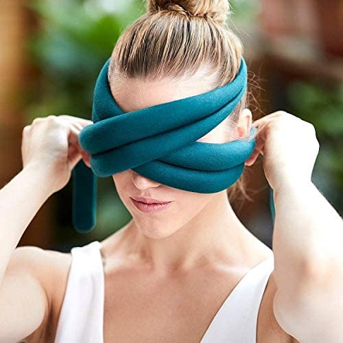 ostrich loop travel eye pillow