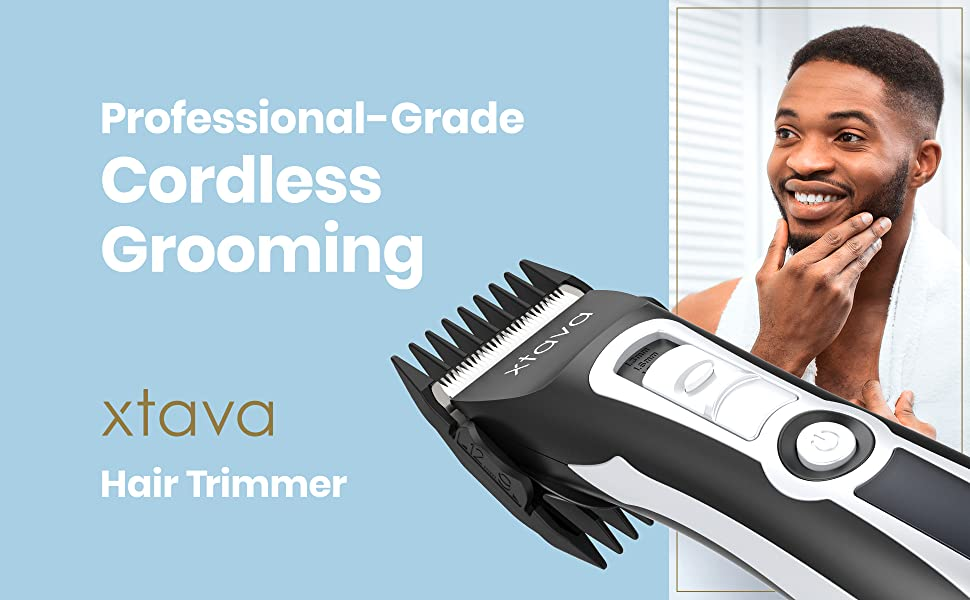 xtava Pro Cordless Hair Clippers and Beard Trimmer f