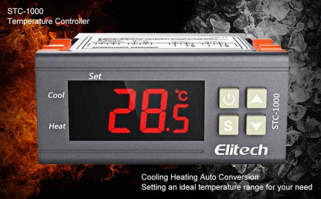 Elitech STC 1000 Digital Temperature Controller