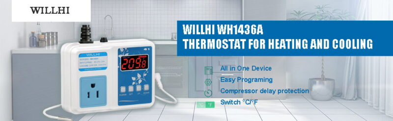 WILLHI WH1436A Digital Temperature Controller