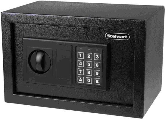 Stalwart Best Digital Locker Safe Electronic Steel Safe with Keypad